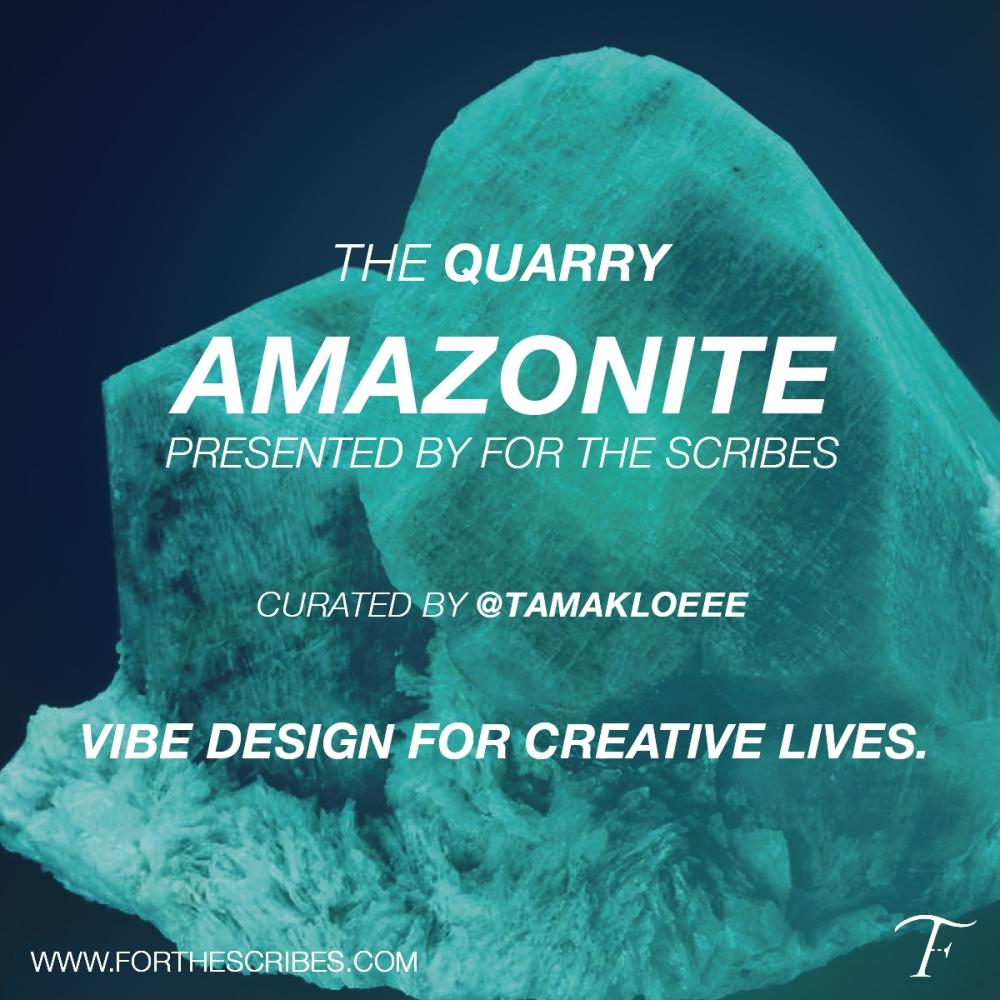 Scribes-Amazonite