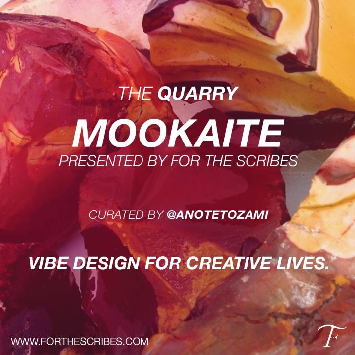 Scribes-Mookaite